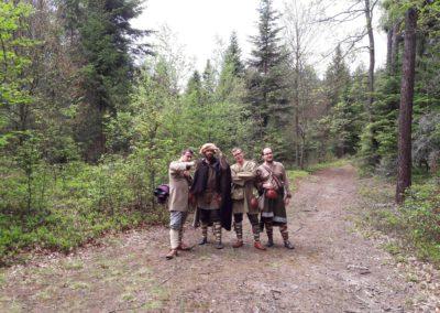 Byliśmy zgodni co do jednego: byliśmy w lesie!