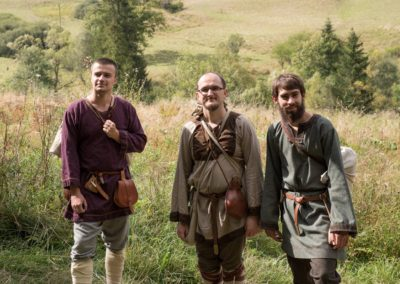 Odstęp między wikingiem a Słowianami nie jest przypadkowy... Lew nie sprzymierza się z kojotem!