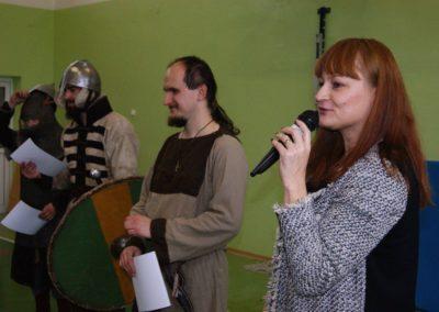 Pani Wicedyrektor ZSP w Krasnem Magdalena Kluz-Międlar