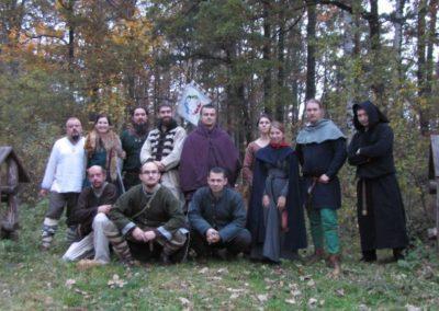 Zdjęcie grupowe wszystkic uczestników biesiady